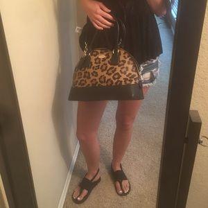 Coach cheetah bag.